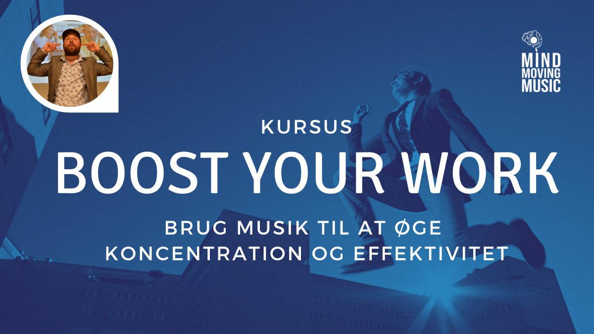 Skru op for arbejdsglæden burg musik til at øge effektivitet og koncentration og sænke stress